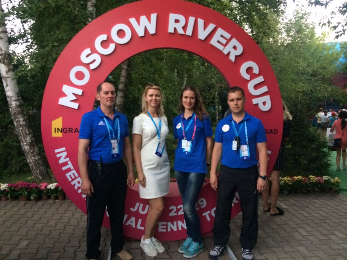 Sawatzky Property Management на международном женском турнире по теннису Moscow River Cup при поддержке INGRAD